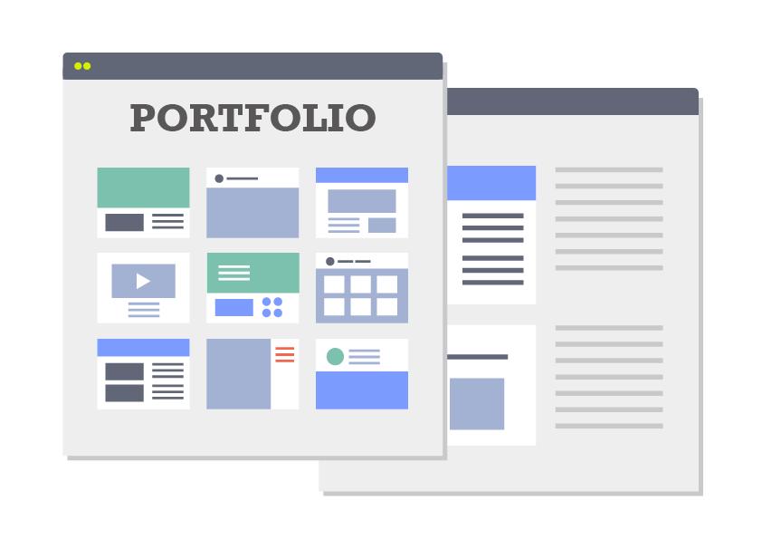 Webデザイナーのポートフォリオの作り方!参考サイトあり