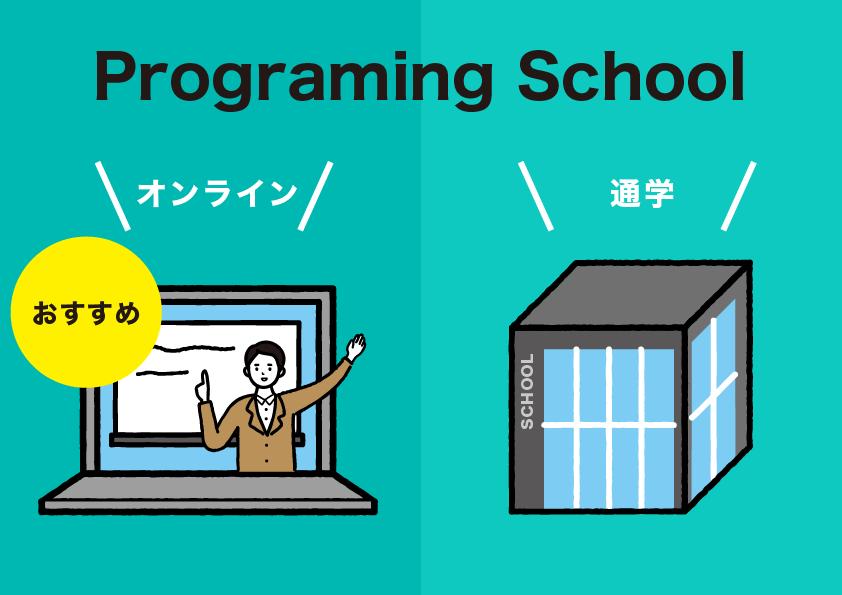 オンラインで学べるプログラミングスクール徹底比較【就転職支援あり】